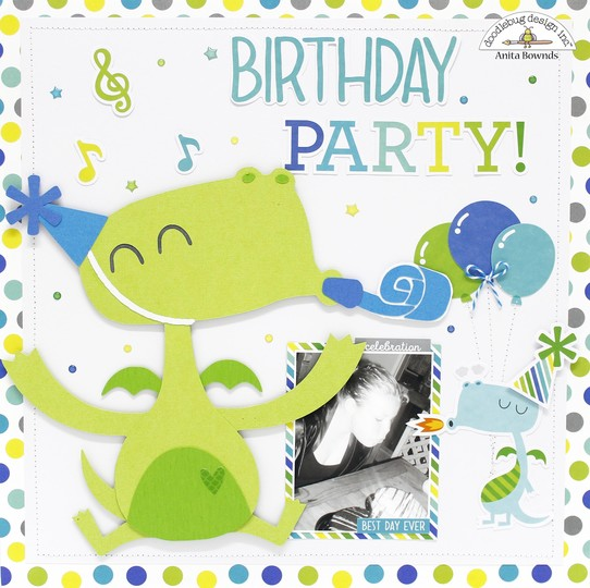 Birthday party layout by anita bownds doodlebug design %25281%2529 original