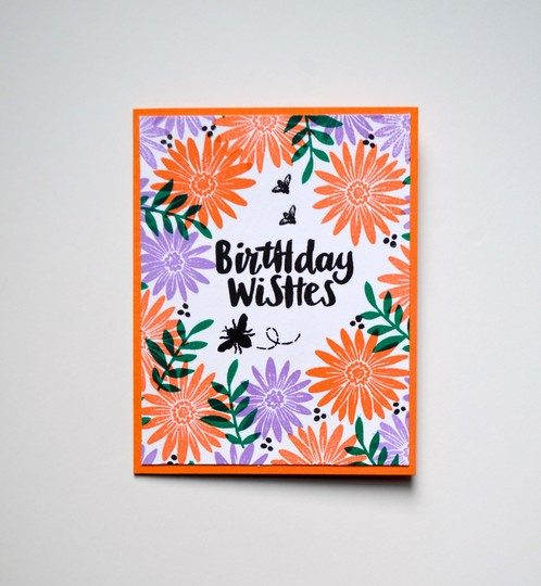 Birthday wishes card original