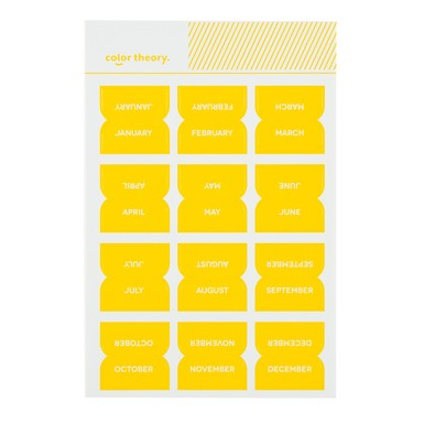 Sc shop stickers monthly labels lemon zest 9615