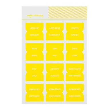 Sc shop stickers monthly labels sunny day 9616