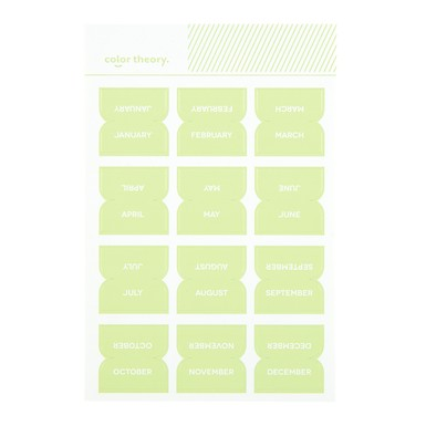 Sc shop stickers monthly labels going green 9620