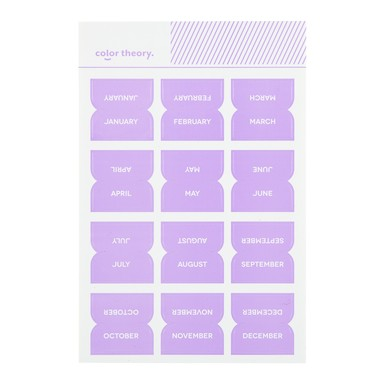 Sc shop stickers monthly labels lavender soda 9626