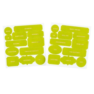 Sc shop labels lime light 8563