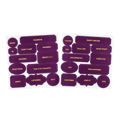 Sc shop labels purple rain 8573