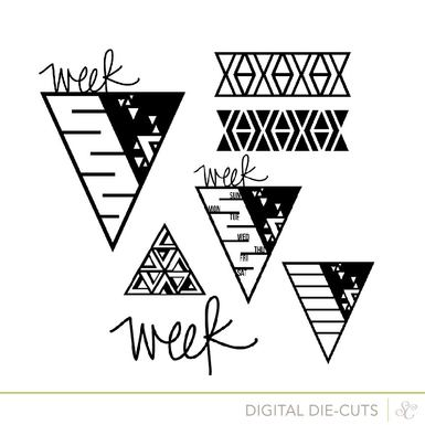Shop week triangles