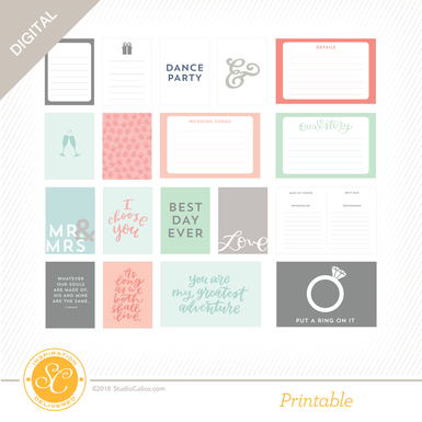Sc arendal journalcards wedding preview