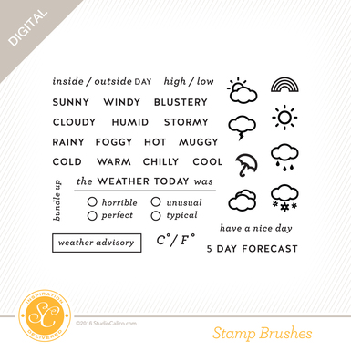 Sc homespun stamp weather preview