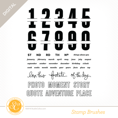 28748 sc sonnet 6x8 stamp by the numbers preview