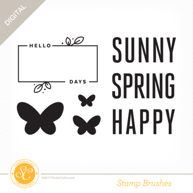 30095 sc birdsandbees stamps sunny days preview