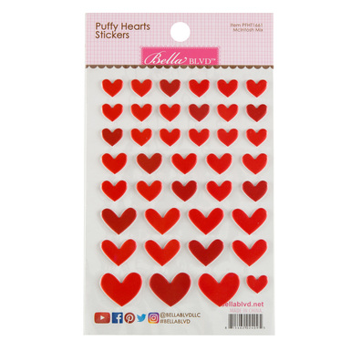 Sc shop stickers puffy heart mcintoch mix 2