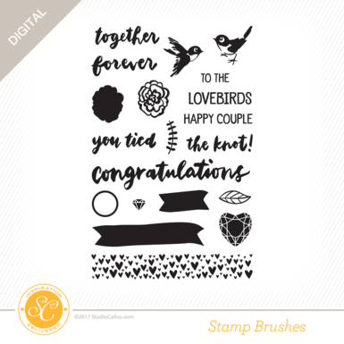 30566 sc writteninthestars stamps wedding preview
