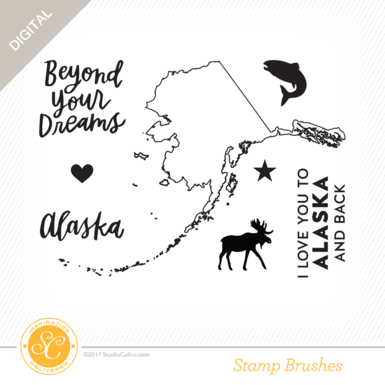 33008 sc writteninthestars stamps i love alaska preview