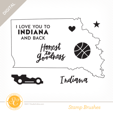 33009 sc writteninthestars stamps i love indiana preview