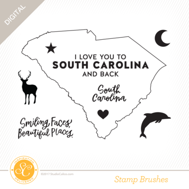 33010 sc writteninthestars stamps i love south carolina preview