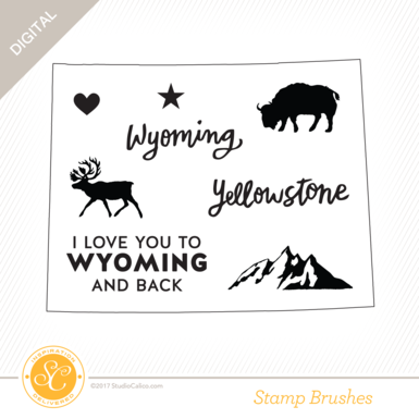33011 sc writteninthestars stamps i love wyoming preview