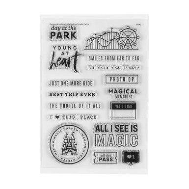 36683 4x6themeparkstamp