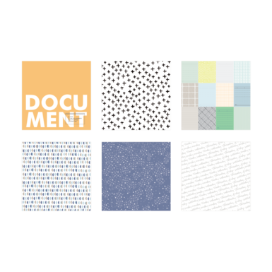 56951 ae main kit patterned papers square