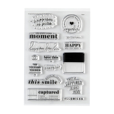 70664 happiness4x6stamp