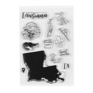 74193 4x6louisianastamp