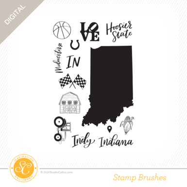 84516 sc digital full bloom indiana stamp preview