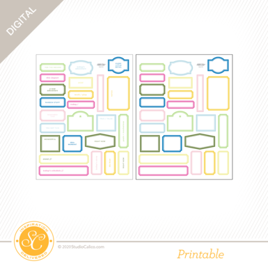 92693 sc digital take it easy printable labels preview