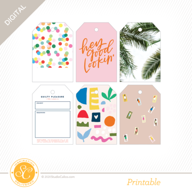 92694 sc digital take it easy printable tags preview