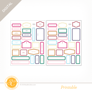 Ns118671 digital bookworm printable labels preview