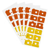 114763 3x8chipboardcamerasorangecountylemonzest5pack