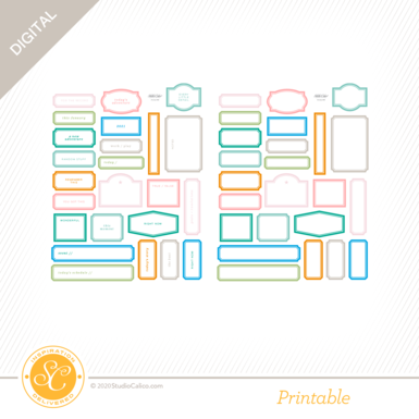 T7183 one of the books printable labels preview