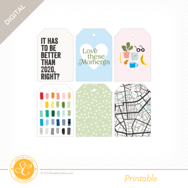 T7184 one of the books printable tags preview